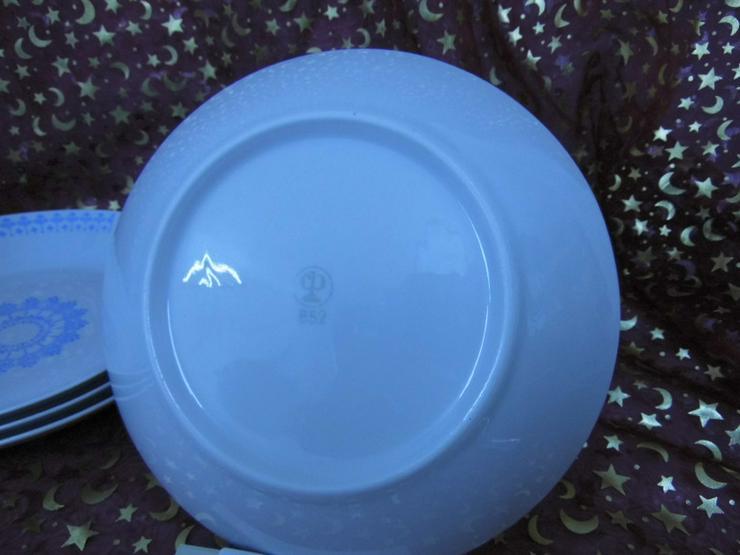 Bild 4: 4 tiefe Teller von Colditz Porzellan - B 52 /
