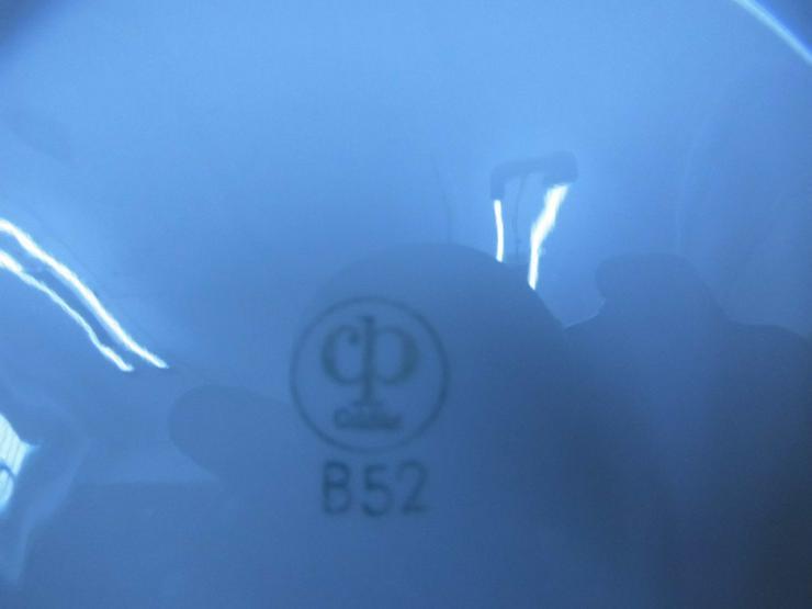 Bild 5: 4 tiefe Teller von Colditz Porzellan - B 52 /