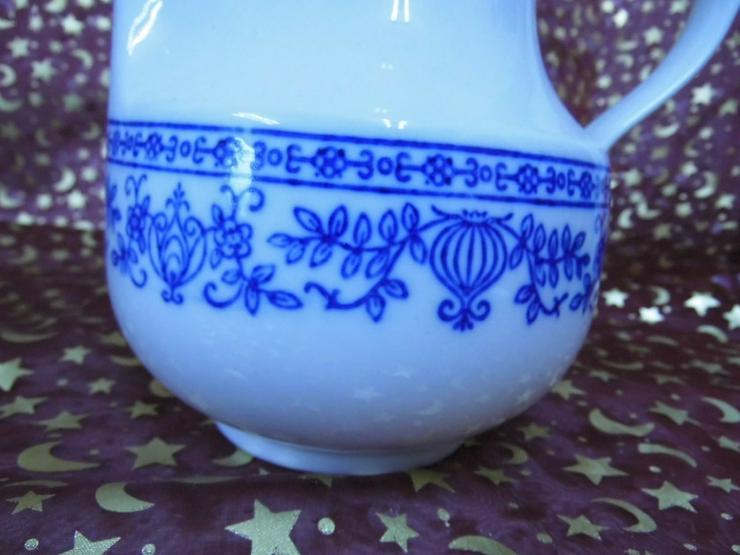 Bild 6: Porzellan KAHLA gr. Kaffeekanne DDR / Zwiebelm