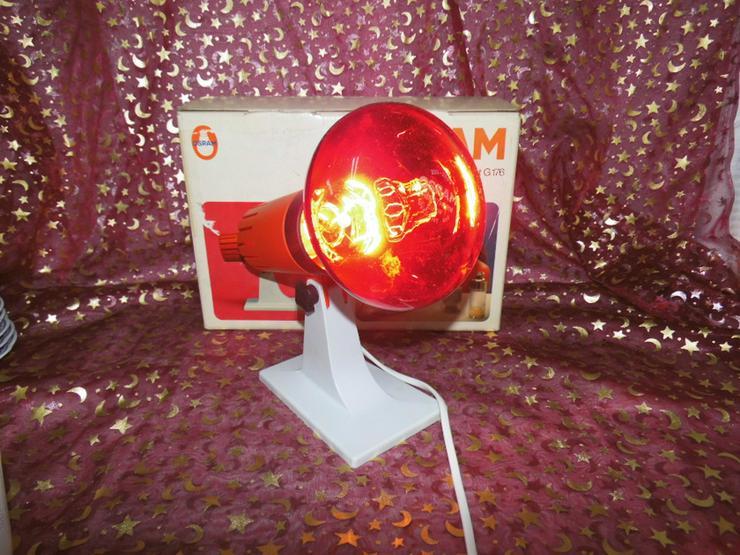 Infrarotlampe Rotlichtlampe Osram / Heilwärmeg