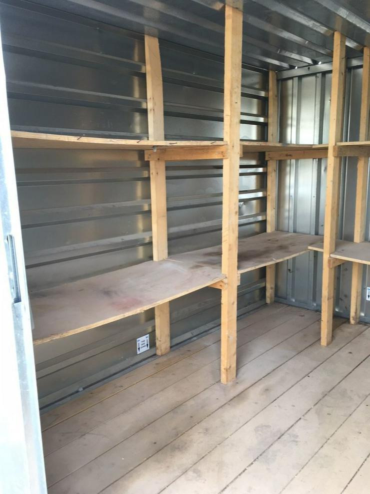 Materialcontainer Werkzeugcontainer Container - Baustellenausstattung - Bild 1