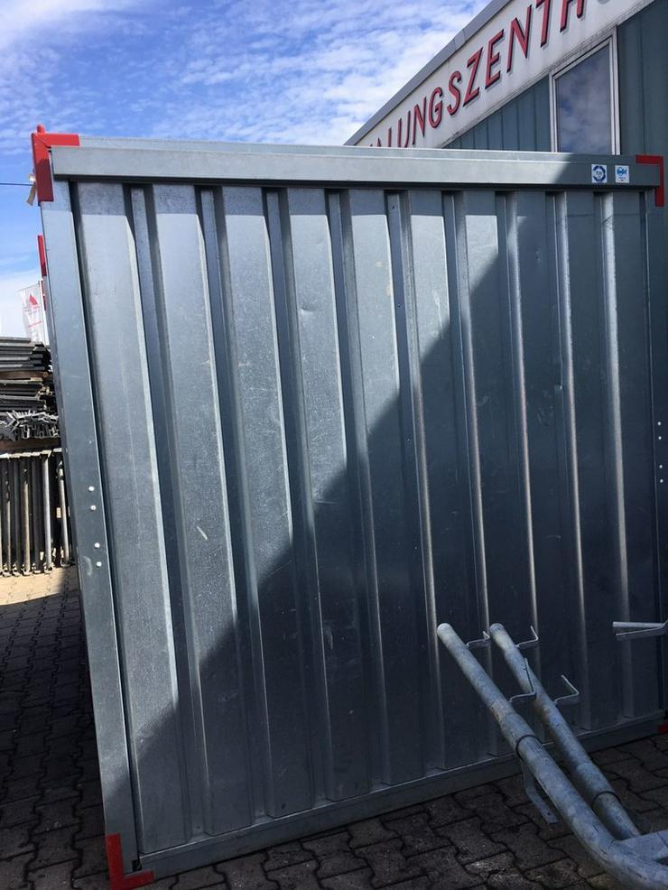 Bild 6: Materialcontainer Werkzeugcontainer Container
