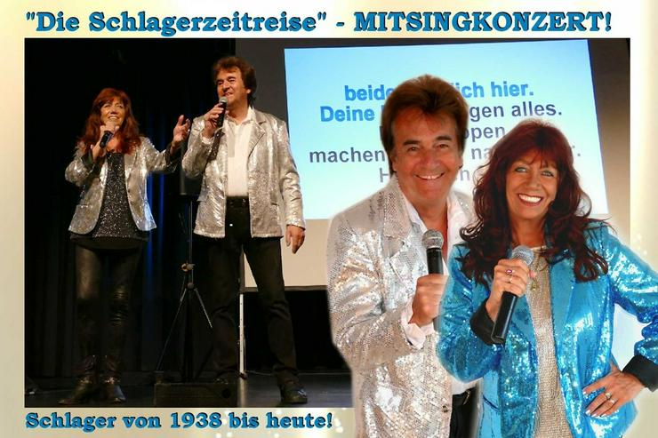 MITSINGKONZERT buchen! Schlager + Oldies - Musik, Foto & Kunst - Bild 1