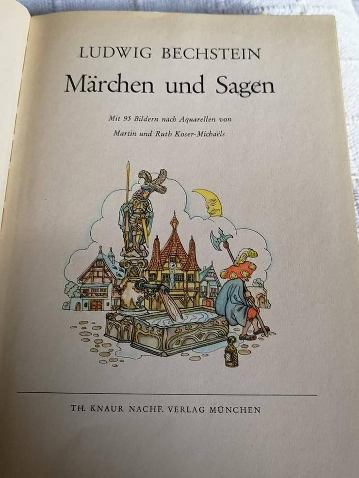Bild 5: Bechstein Märchen und Sagen