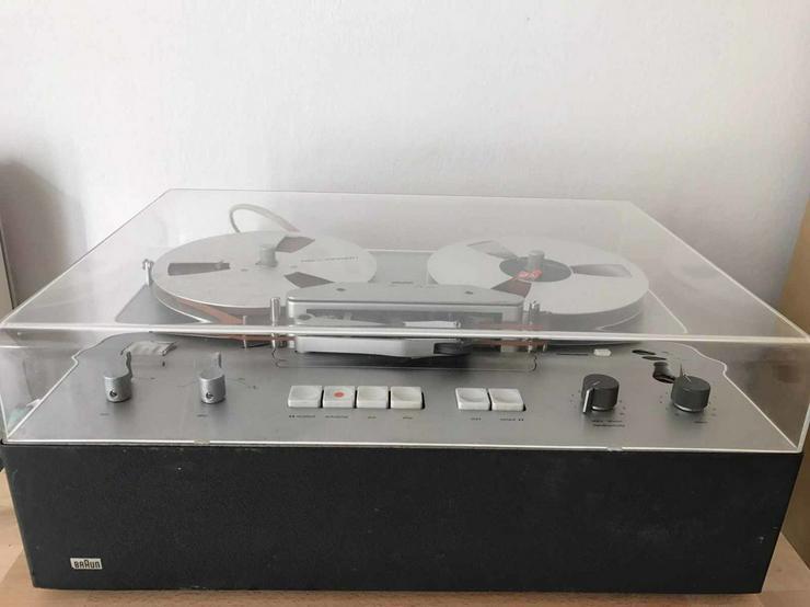 Bild 2: Braun Tonbandgerät TG550
