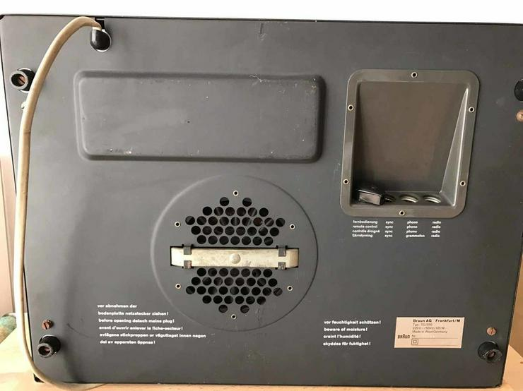 Bild 4: Braun Tonbandgerät TG550
