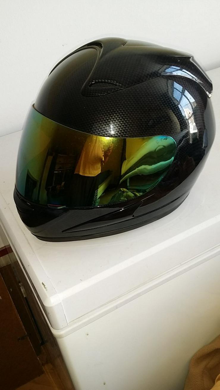 Carbon Fiber Helm - Unbenutzt
