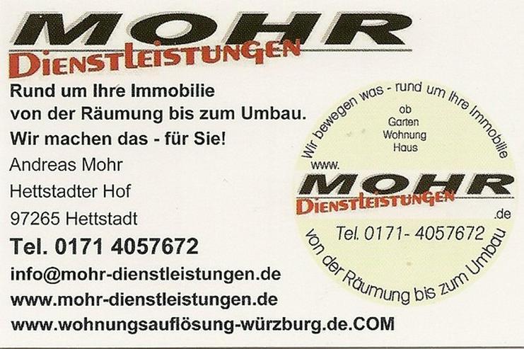 Wohnungsauflösungen Würzburg
