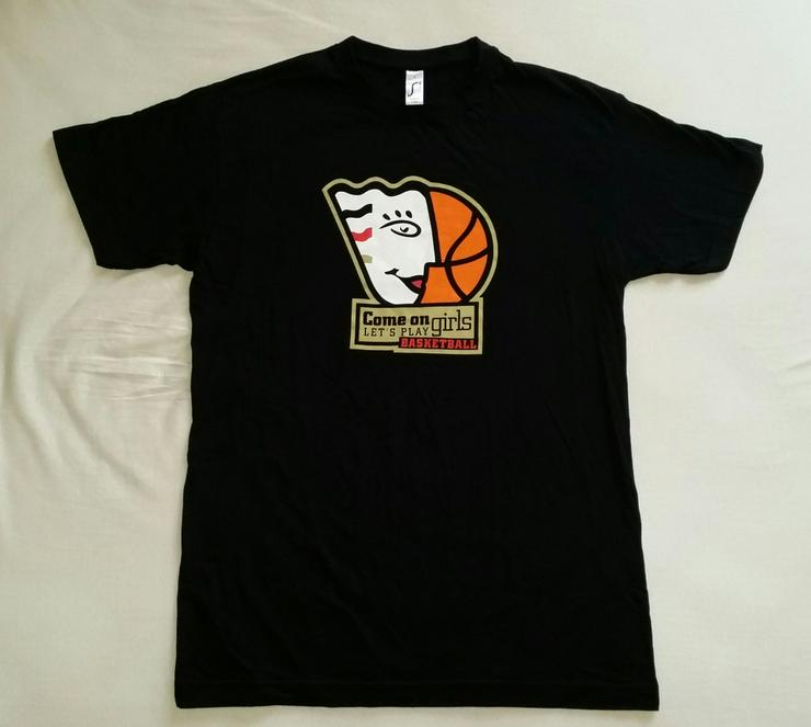 DBB Damen Oberteil schwarz mit Logo in Gr. S