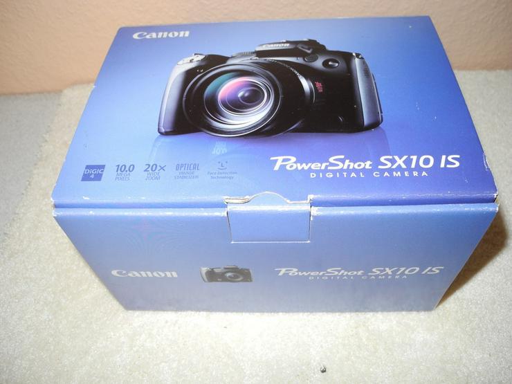 Bild 2: Biete Canon Power Shot SX 10-ISzum Tausch an