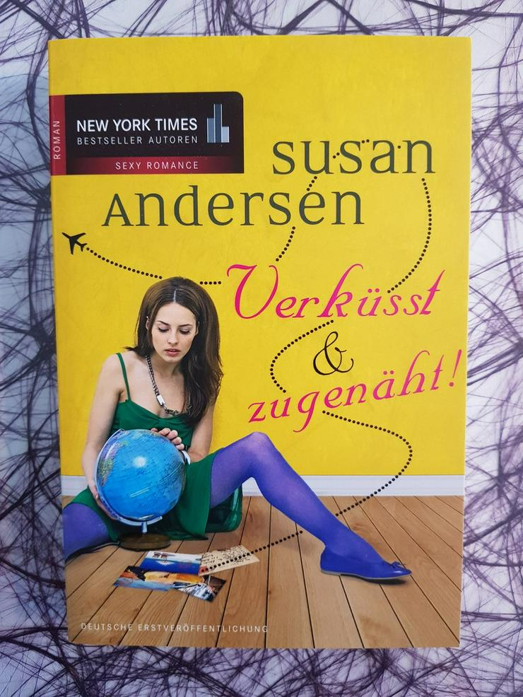 Susan Andersen Verküsst & zugenäht!