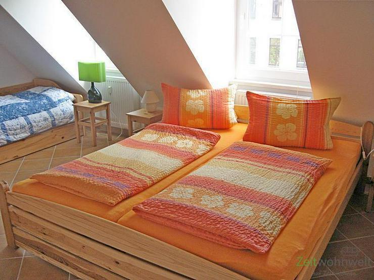 (EF0433_M) Dresden: Hosterwitz/Pillnitz, möblierte Wohnung mit Balkon nahe Schloss Pillni... - Wohnen auf Zeit - Bild 1