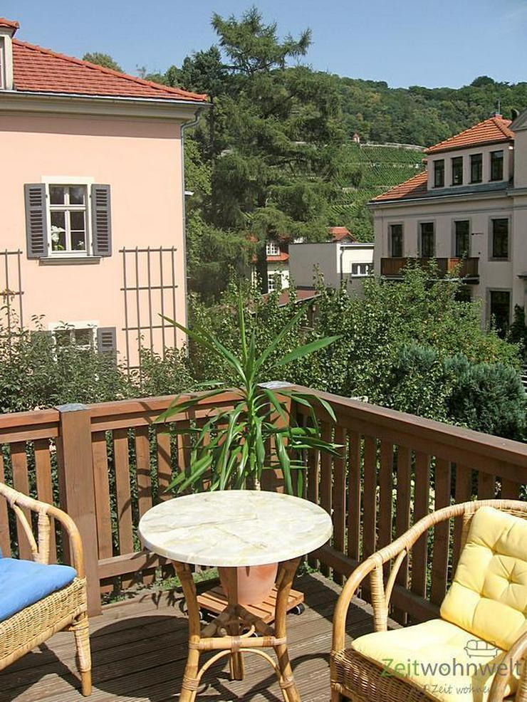Bild 5: (EF0433_M) Dresden: Hosterwitz/Pillnitz, möblierte Wohnung mit Balkon nahe Schloss Pillni...