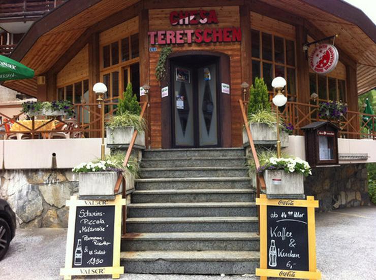 Einladendes Restaurant CHESA TERETSCHEN