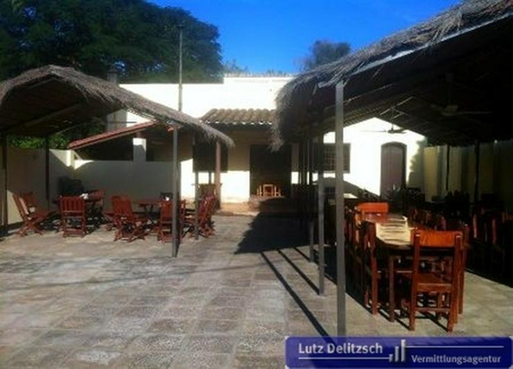 Restaurant mit Biergarten und Wohnhaus - Gewerbeimmobilie kaufen - Bild 1