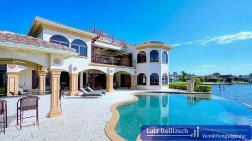 Luxus-Villa mit Wasserblick in Cape Coral