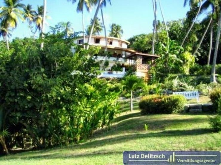 Luxus-Villa mit Pool und Meerblick auf Barbados