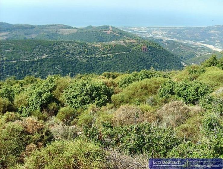 Baugrundstück mit Meer- und Bergsicht, auch teilbar - Grundstück kaufen - Bild 1