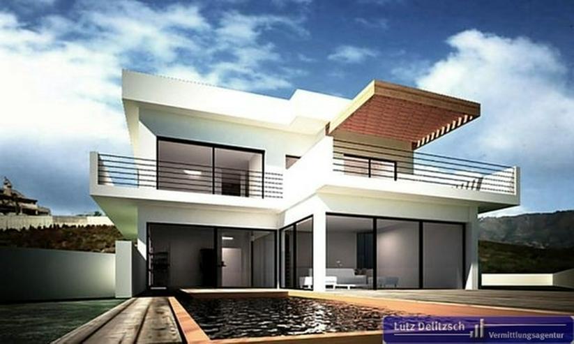 Luxus-Neubauvilla in Golfplatznähe mit Meerblick - Haus kaufen - Bild 1
