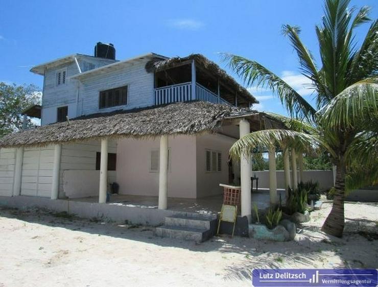 Anwesen direkt am Strand in Punta Rucia