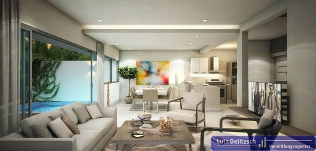 Bild 2: Doppelhaus-Hälfte in einer Anlage mit Finanzierung in Juan Dolio