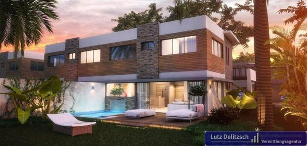 Doppelhaus-Hälfte in einer Anlage mit Finanzierung in Juan Dolio