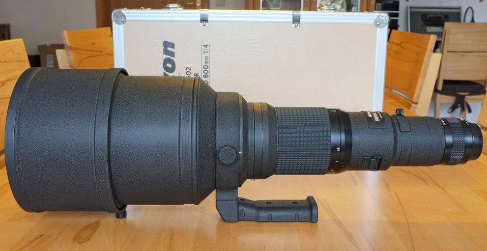 Nikon Objektiv 600mm 1:4 ED 1:4 ED manuellfokus