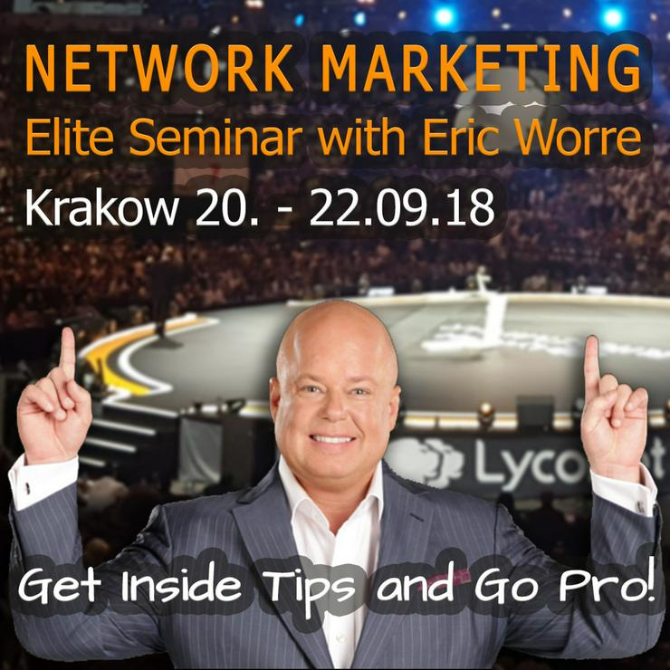 Eric Worre Lyconet Elite Seminar Krakau