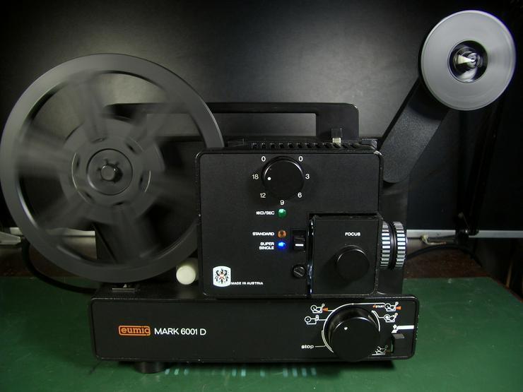 Bild 6: Eumig Mark 6001D Super 8 und doppel 8/ N8 Film