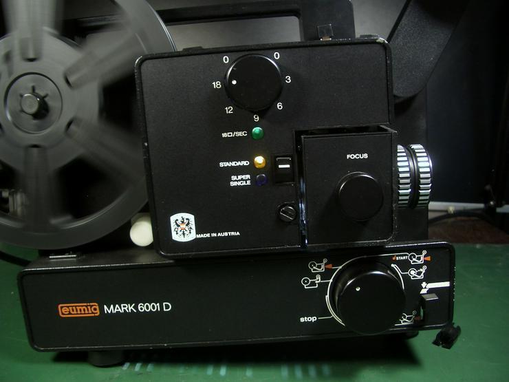 Bild 2: Eumig Mark 6001D Super 8 und doppel 8/ N8 Film