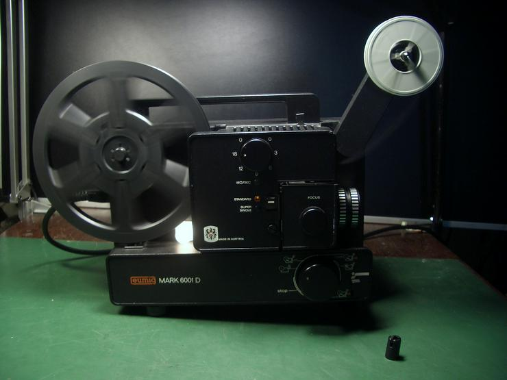 Bild 4: Eumig Mark 6001D Super 8 und doppel 8/ N8 Film