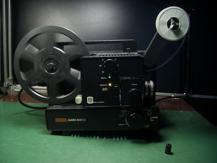 Eumig Mark 6001D Super 8 und doppel 8/ N8 Film