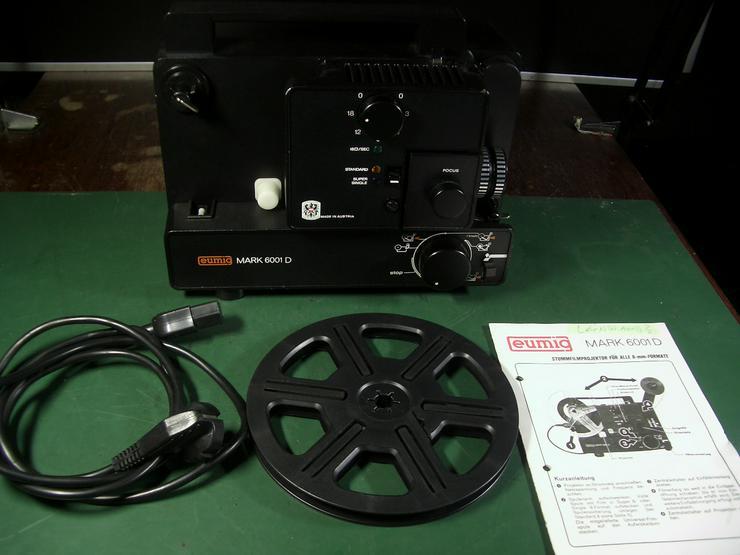 Bild 3: Eumig Mark 6001D Super 8 und doppel 8/ N8 Film