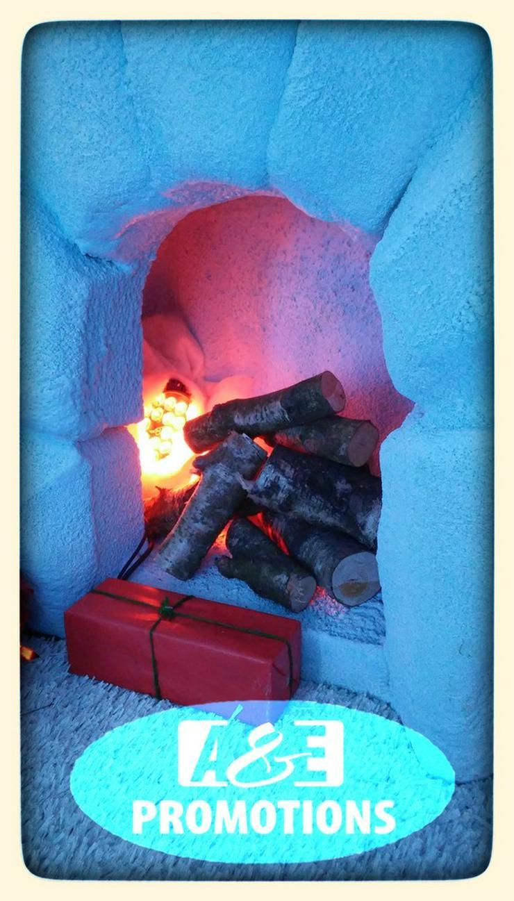 Bild 2: weihnachtsmann coca cola mieten schneemann