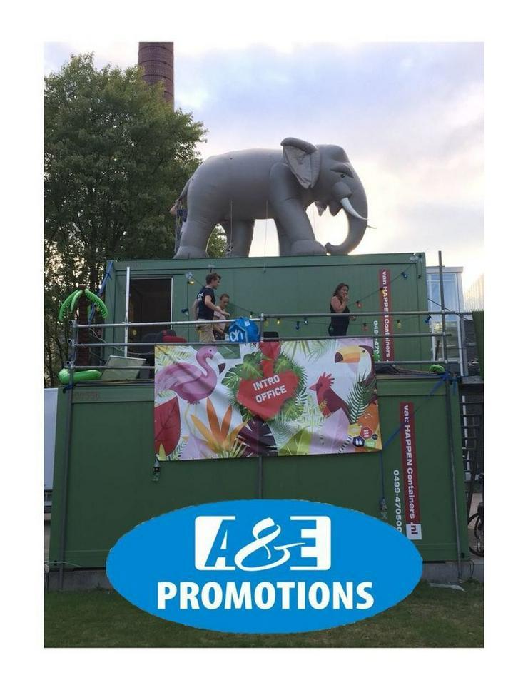 riesen elefant mieten dschungel deko verleih