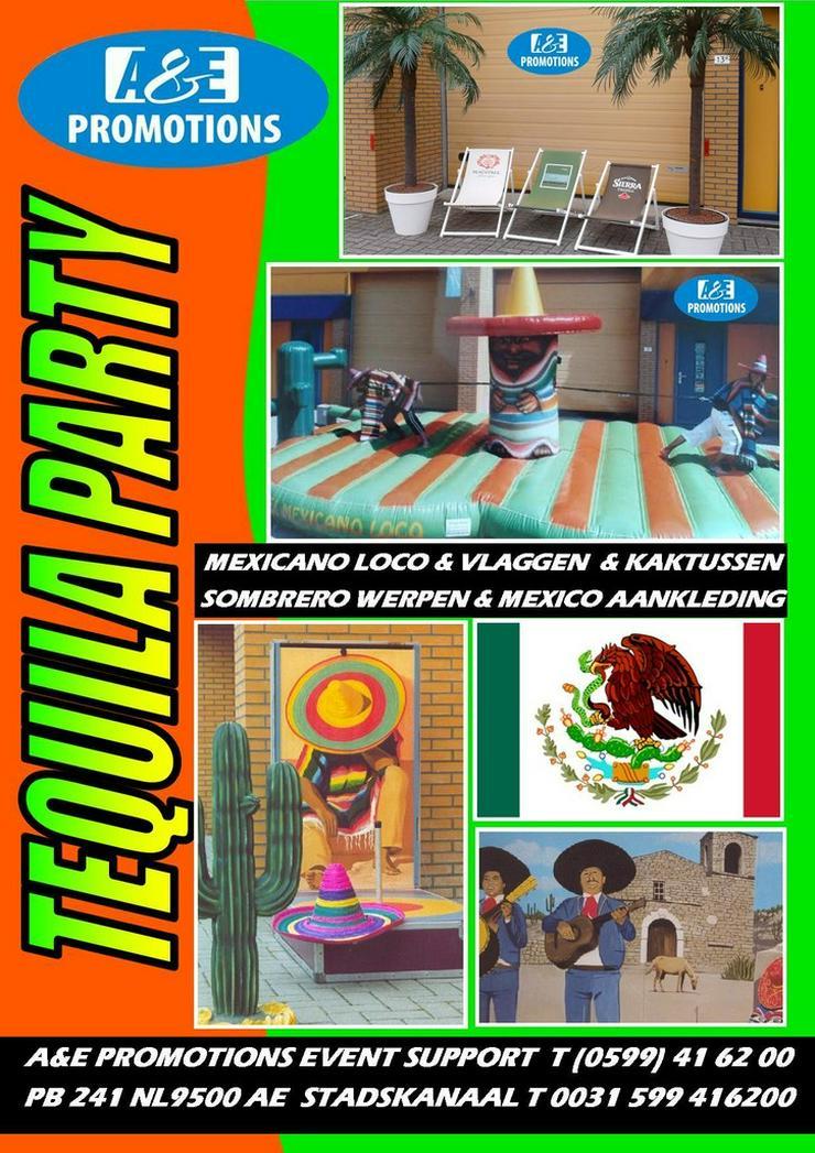 fiesta mexico verleih sombrero werfpspiel - Kostüme & Requisiten - Bild 1