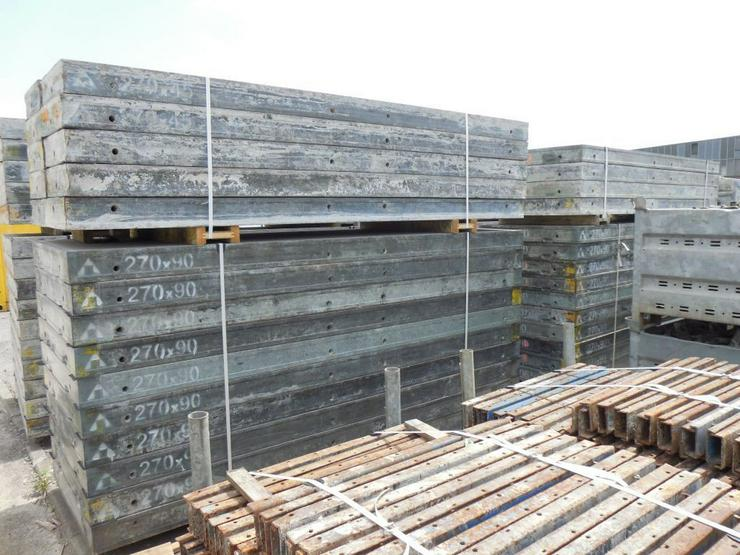 205m² Doka Framax Schalung Kellerschalung - Baustellenausstattung - Bild 1