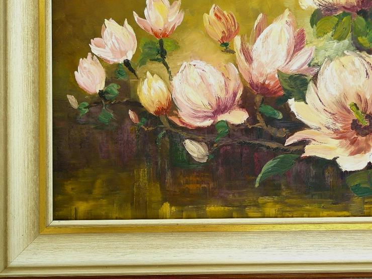 Bild 2: Gemälde R. Winter Magnolien (B062)