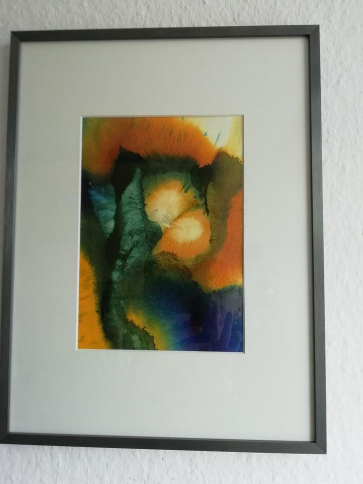 Bild Airbrushfarben auf Aquarellpapier