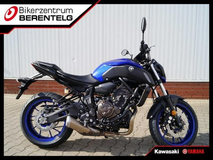 YAMAHA MT-07 Modell 2018 A2 tauglich
