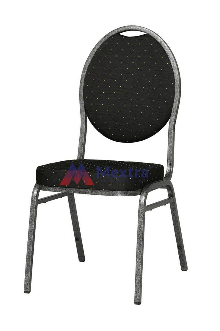Bankettstuhl HERMAN Schwarz - Stühle & Sitzbänke - Bild 1