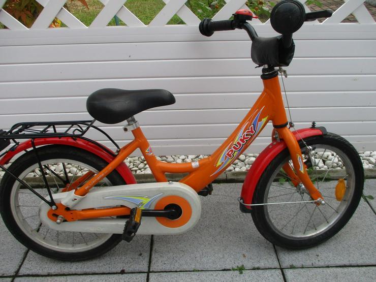 Kinderfahrrad 16 Zoll von Puky Orange Versand m