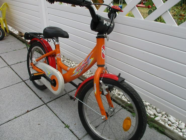 Bild 2: Kinderfahrrad 16 Zoll von Puky Orange Versand m