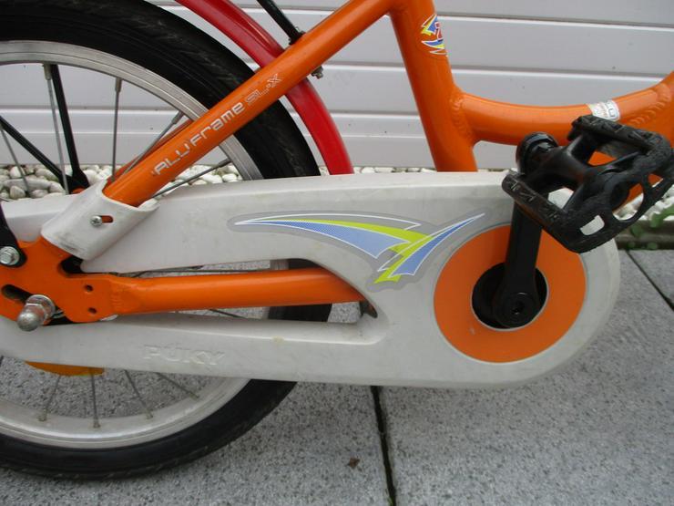Bild 6: Kinderfahrrad 16 Zoll von Puky Orange Versand m