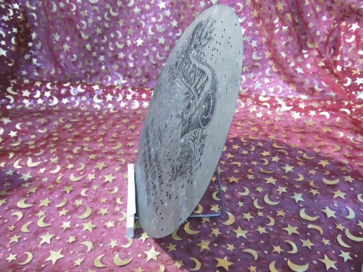 Bild 4: Celesta Polyphon - Platte, antike Lochplatte /