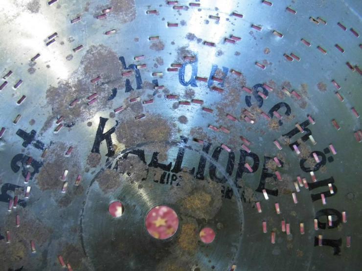 Bild 2: Kalliope Leipzig Polyphon Blechplatte Nr.245 /