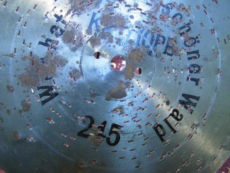Bild 3: Kalliope Leipzig Polyphon Blechplatte Nr.245 /