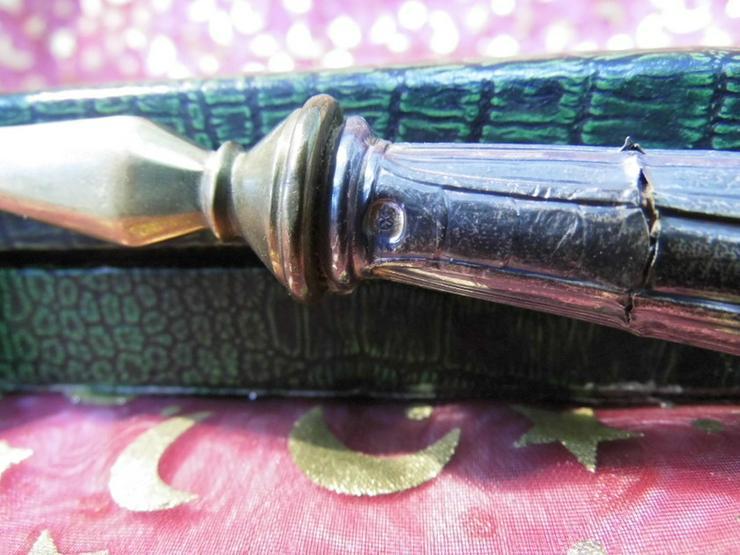 Bild 4: Antiker Tortenheber um 1900 / 100er Silberaufl