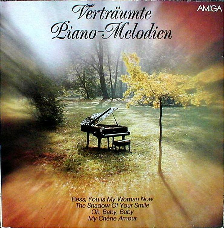 Amiga - LP: Verträute Piano-Melodien