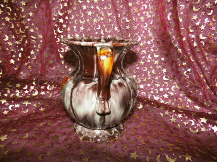Bild 3: Keramikvase Jasba Keramik um 1970 / geflammt,